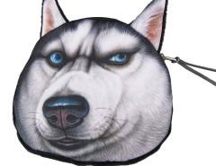 Angry Husky Coin Purse Choies.com bester Fashion-Online-Shop Großbritannien Europa