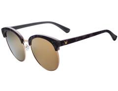 Black Cat Eye Mirror Lens Round Sunglasses Choies.com bester Fashion-Online-Shop Großbritannien Europa