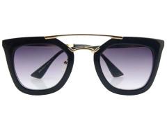 Black Mirrored Lens Square Sunglasses Choies.com bester Fashion-Online-Shop Großbritannien Europa