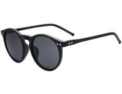 Black Star Detail Round Sunglasses Choies.com bester Fashion-Online-Shop Großbritannien Europa