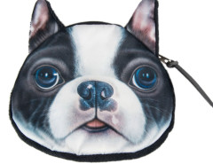 Boston Terrier Dog Coin Purse Choies.com bester Fashion-Online-Shop Großbritannien Europa