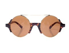 Cool Circle Sunglasses In Leapard Colour Choies.com bester Fashion-Online-Shop Großbritannien Europa