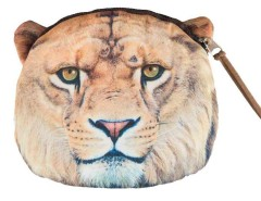 Fierce Lion Pattern Coin Purse Choies.com bester Fashion-Online-Shop Großbritannien Europa