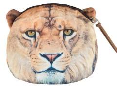Fierce Lion Pattern Coin Purse Choies.com bester Fashion-Online-Shop Großbritannien Europa