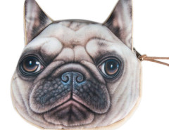 French Bulldog Dog Coin Print Purse Choies.com bester Fashion-Online-Shop Großbritannien Europa