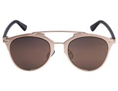 Golden Mirrored Lens High Bar Retro Sunglasses Choies.com bester Fashion-Online-Shop Großbritannien Europa