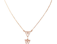 Golden Triangle Pendant Necklace Choies.com bester Fashion-Online-Shop Großbritannien Europa