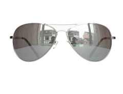 Hot Sale Reflector Sunglasses In Silvery Choies.com bester Fashion-Online-Shop Großbritannien Europa
