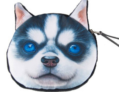Husky Dog Coin Purse Choies.com bester Fashion-Online-Shop Großbritannien Europa