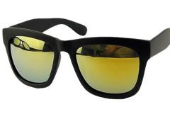 Matte Black Frame Mirror Lens Wayfarer Sunglasses Choies.com bester Fashion-Online-Shop Großbritannien Europa