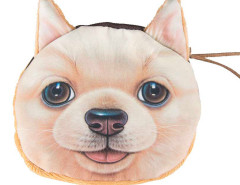 Retriever Dog Print Coin Purse Choies.com bester Fashion-Online-Shop Großbritannien Europa