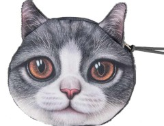 Scottish Fold Coin Purse Choies.com bester Fashion-Online-Shop Großbritannien Europa