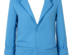 Slim Blazer In Blue Choies.com bester Fashion-Online-Shop Großbritannien Europa