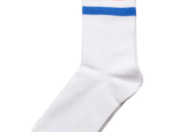 Stripe Ankle Socks in White Choies.com bester Fashion-Online-Shop Großbritannien Europa