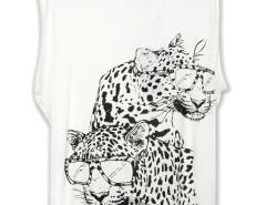 Sunglasses Leopard Print T-shirt Choies.com bester Fashion-Online-Shop Großbritannien Europa