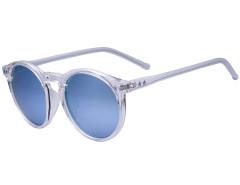 White Star Detail Mirror Lens Round Sunglasses Choies.com bester Fashion-Online-Shop Großbritannien Europa