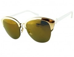 Round Sunglasses with Metal Frame Chicnova bester Fashion-Online-Shop aus China