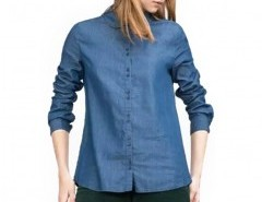 Single Breasted Denim Blouse Chicnova bester Fashion-Online-Shop aus China