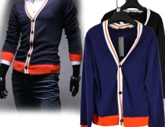 Men's Top Knit Sweater Shirts Cardigans Button V Neck Jacket Cndirect bester Fashion-Online-Shop aus China