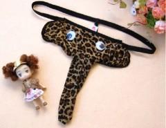 Men's Leopard Grain Elephant Pouch G-String Thong Underwear Novelty Cndirect bester Fashion-Online-Shop aus China