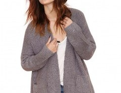 Ribbed Cardigan in Knit Chicnova bester Fashion-Online-Shop aus China