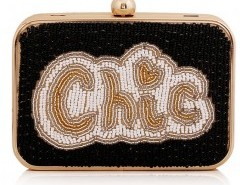Box Clutch with Embroidery Detailing Chicnova bester Fashion-Online-Shop aus China