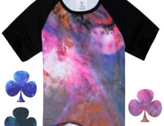 Cool Men Casual Short Sleeve Round Neck Galaxy Space Starry Print Lovers' Clothes Couple T-shirt Top Tee Cndirect bester Fashion-Online-Shop aus China