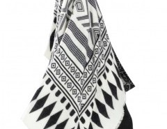 Geo Print Cape with Fringe Chicnova bester Fashion-Online-Shop aus China