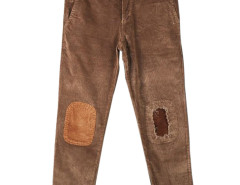 Men's Corduroy Pant with Patch Knee Choies.com bester Fashion-Online-Shop aus China