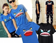 Men Zipper Design Cotton Short Sleeve T-shirt Top Tee Cndirect bester Fashion-Online-Shop aus China