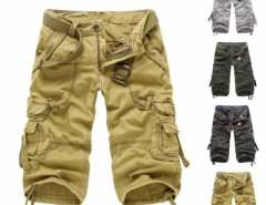 Men Casual Cargo Camo Cotton Overall Shorts Sports Pants Cndirect bester Fashion-Online-Shop aus China