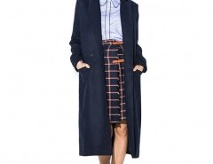 Double Breasted Longline Coat Chicnova bester Fashion-Online-Shop aus China