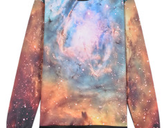 3D Galaxy Digital Print Unisex Sweatshirt Choies.com bester Fashion-Online-Shop aus China