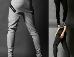 Men's Harem Trousers Skinny Pants Straight Fit Cndirect bester Fashion-Online-Shop aus China