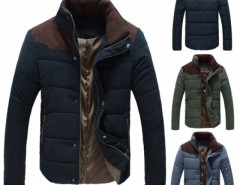 Men's Winter Warm Thermal Wadded Jacket Cotton-padded Coat Cndirect bester Fashion-Online-Shop aus China