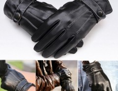 Men Warm Lined Leather Gloves Skiing Cycling Driving Riding Cndirect bester Fashion-Online-Shop aus China