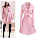 2016 Trends Women's Elegant Slim Fit Long Coat Outwear Overcoat Cndirect bester Fashion-Online-Shop China