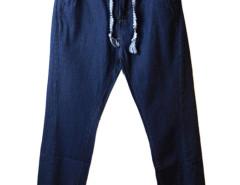 Blue Drawstring Waist Jogger Pants Choies.com bester Fashion-Online-Shop aus China