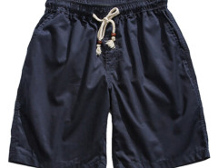 Navy Drawstring Waist Shorts Choies.com bester Fashion-Online-Shop aus China