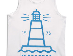 White Light House Print Vest Top Choies.com bester Fashion-Online-Shop aus China