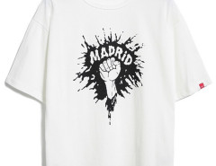 White Splash Letter And Hand Print T-shirt Choies.com bester Fashion-Online-Shop aus China