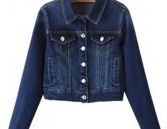 Long Sleeve Denim Coat Chicnova bester Fashion-Online-Shop aus China