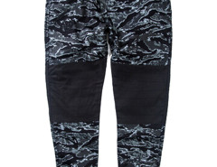 Green Camo Print Contrast Knee Tapered Jogger Pants Choies.com bester Fashion-Online-Shop aus China