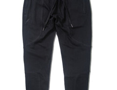 Black Zip Pocket Drawstring Waist Tapered Joggers Choies.com bester Fashion-Online-Shop aus China