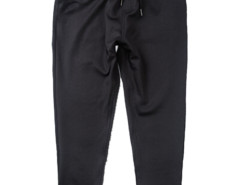 Black Tapered Leg Drawstring Waist Jogger Pants Choies.com bester Fashion-Online-Shop aus China