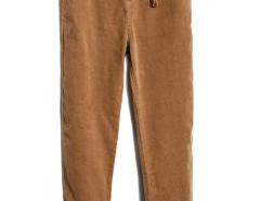 Khaki Tasseled  Drop Emebllished Corduroy Pants Choies.com bester Fashion-Online-Shop aus China