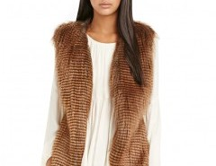 Sleeveless Faux Fur Vest Chicnova bester Fashion-Online-Shop aus China