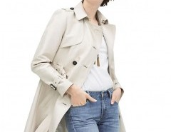 Double-breasted Belted Coat Chicnova bester Fashion-Online-Shop aus China
