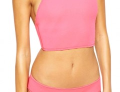 2pcs Neoprene Halter Cropped Adult Tankini OASAP bester Fashion-Online-Shop aus China