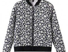 Stand Collar Floral Print Jacket Chicnova bester Fashion-Online-Shop aus China